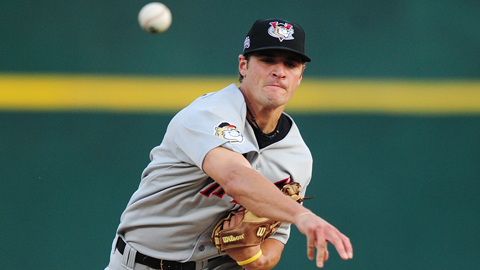 Nick Tropeano compiled a 2.36 ERA in his first pro season in 2011.