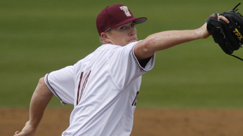 Colton Turner was 5-3 with a 2.46 ERA in 14 collegiate starts in 2012.