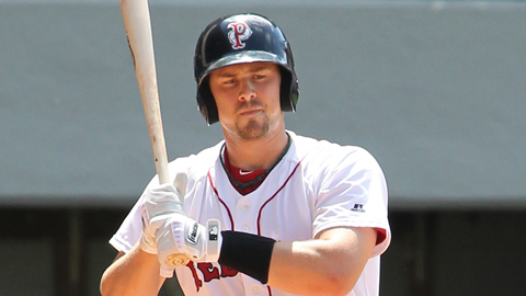 Ryan Lavarnway is hitting .291 for Pawtucket this year.