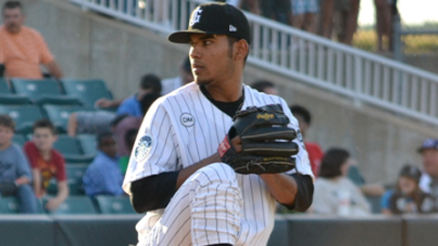 Anthony Fernandez has thrown three complete games and two shutouts in six years.