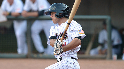 Brian Blasik is batting .336 with 23 RBIs in 29 games with Greeneville.
