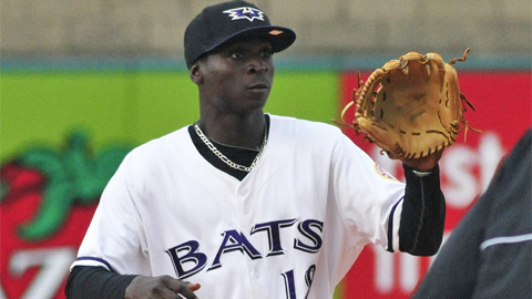 Shortstop Didi Gregorius has four homers in 14 games for Louisville.